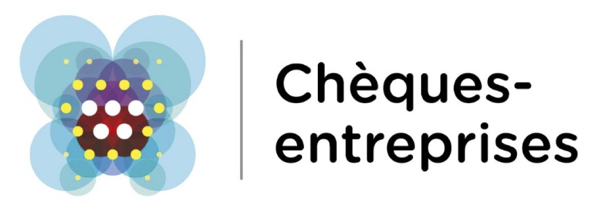 Chèque entreprise logo