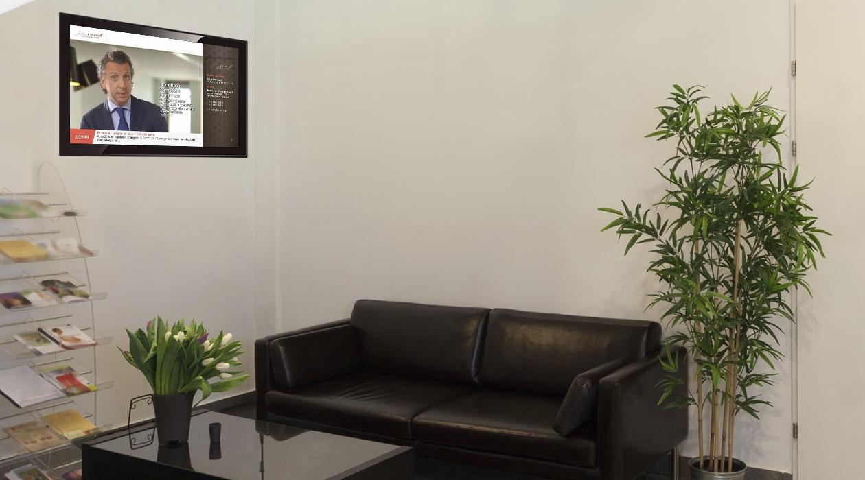 Les notaires animent leur salle d'attente