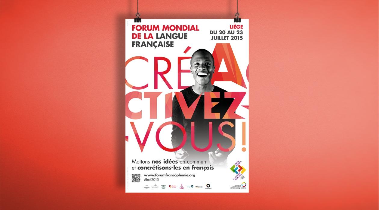 Promotion du 2e Forum mondial de la langue française