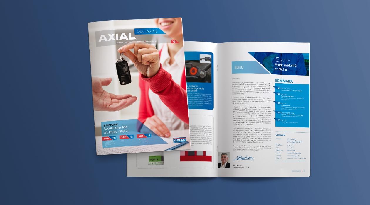Edition du magazine réseau