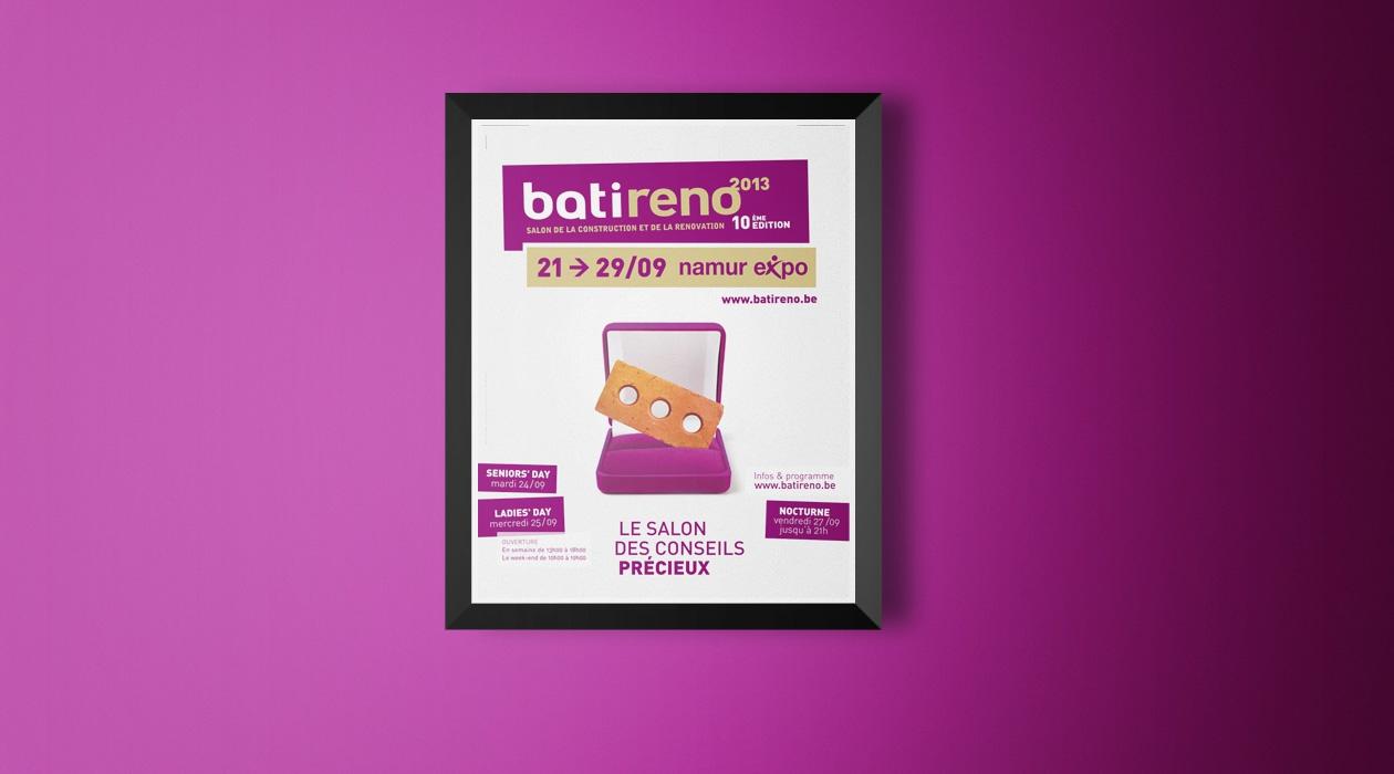 Promotion du salon Batireno