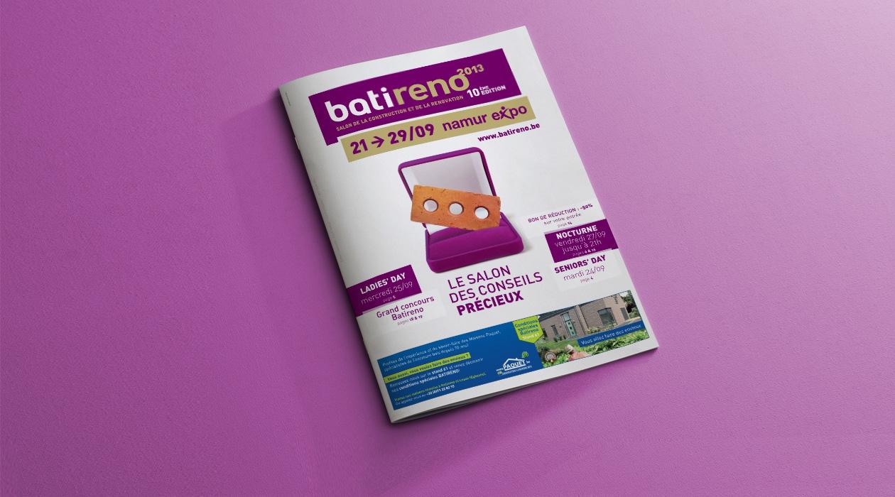Gestion de la régie publicitaire pour Batireno