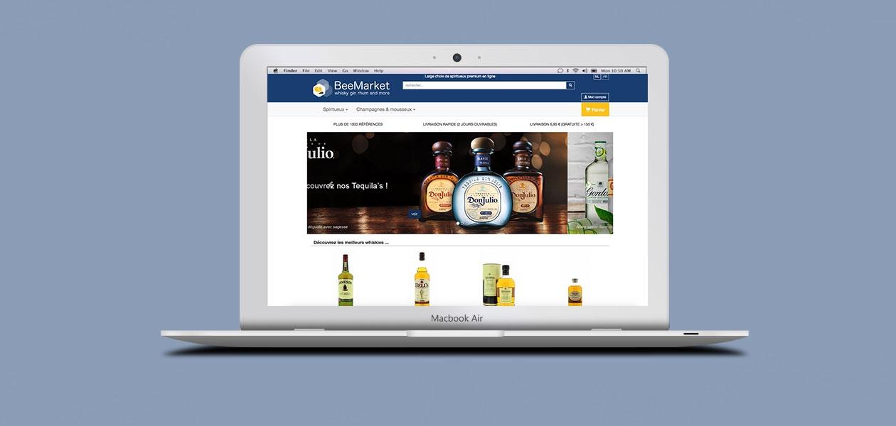 Site e-commerce Bee Market