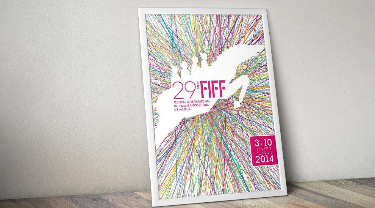 Affiche du FIFF 2014