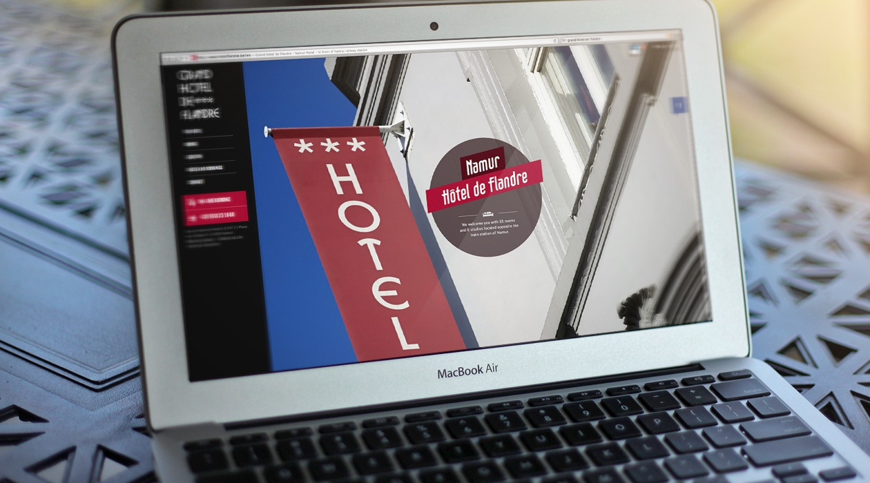 Site Internet du plus ancien hôtel namurois