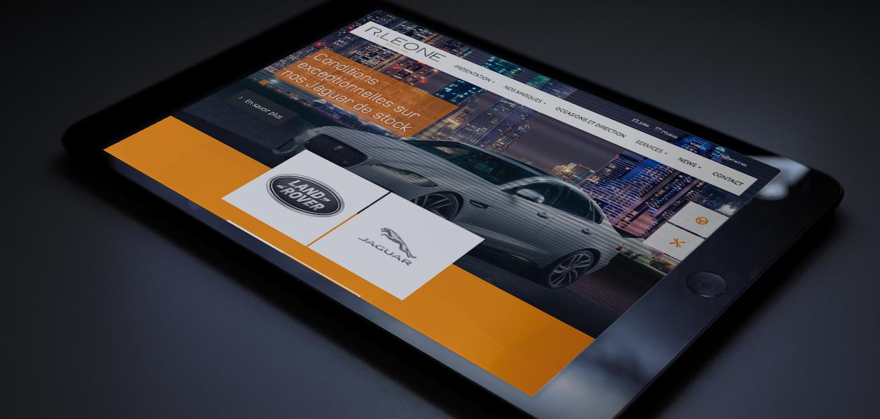 Des Jaguar et des Land Rover en ligne
