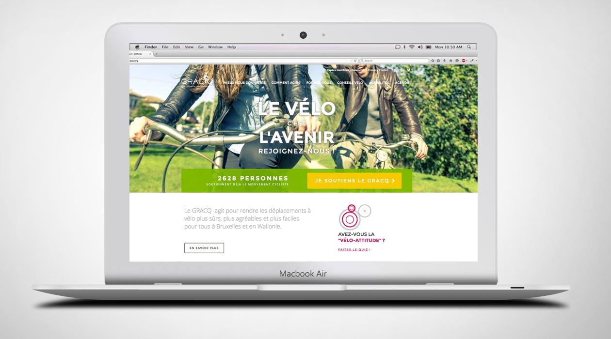Les fans de vélo ont leur site web