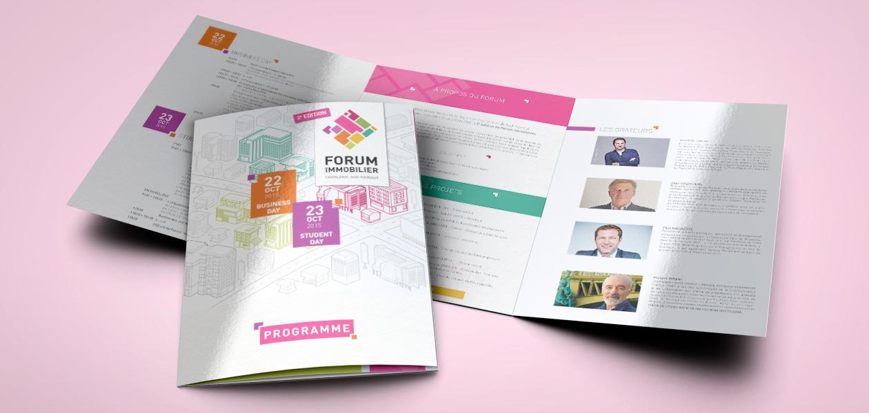 Organisation du Forum Immobilier 2015 (2e édition)