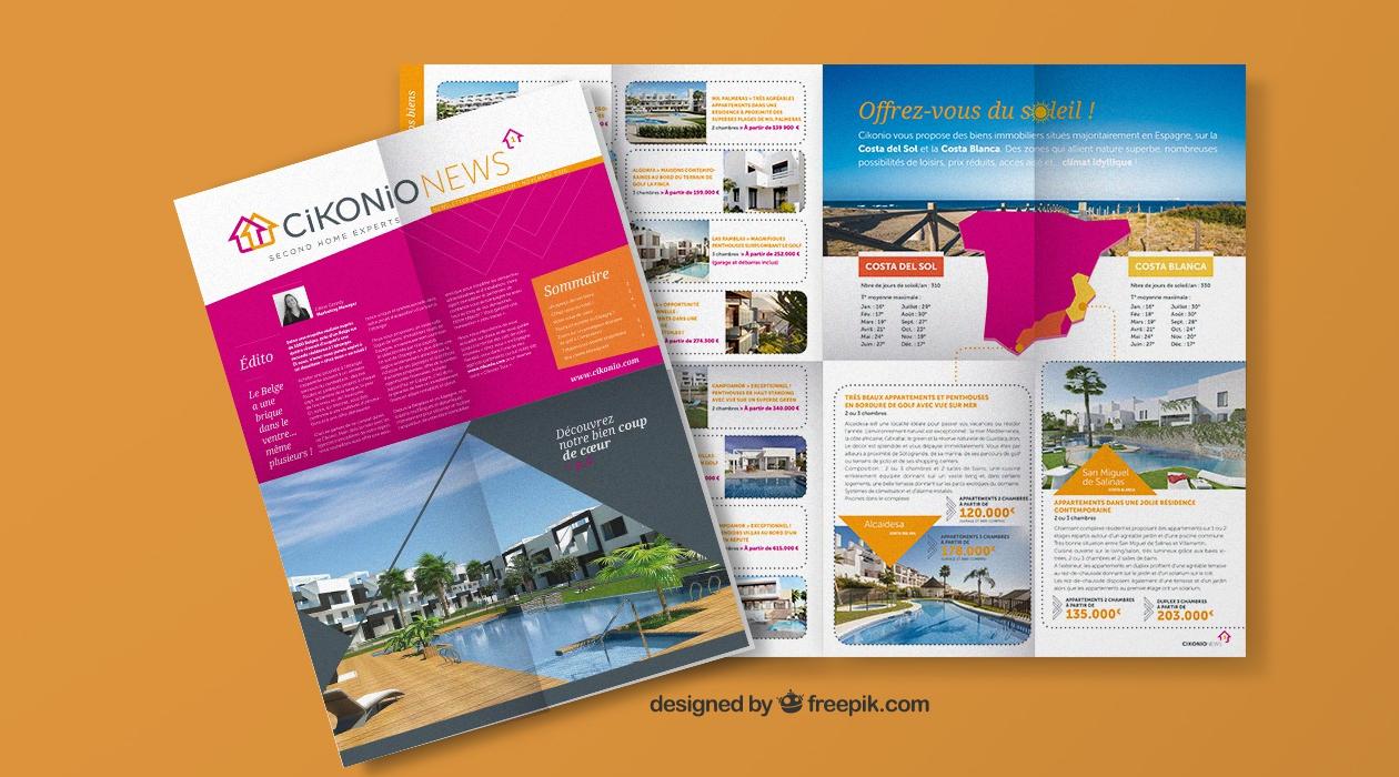 Newsletter promotionnelle