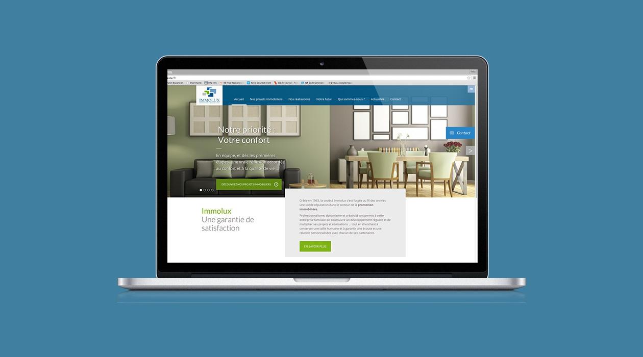 Un site web pour un acteur majeur de l'immobilier