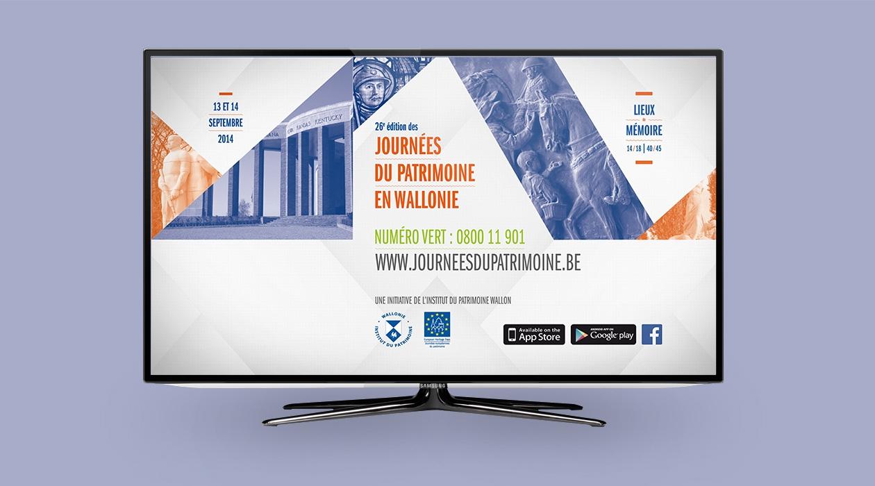 Un spot TV pour la promotion des Journées du Patrimoine