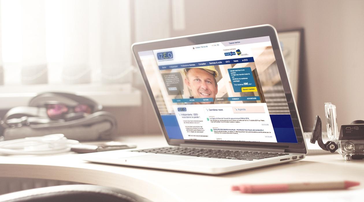 Création du site Internet dans le but de générer davantage d'affiliations