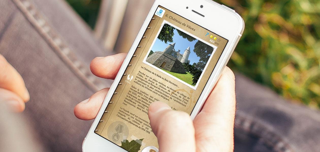 Une application mobile pour découvrir une région