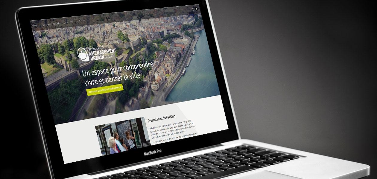 Site web 'Namur reprend vie'