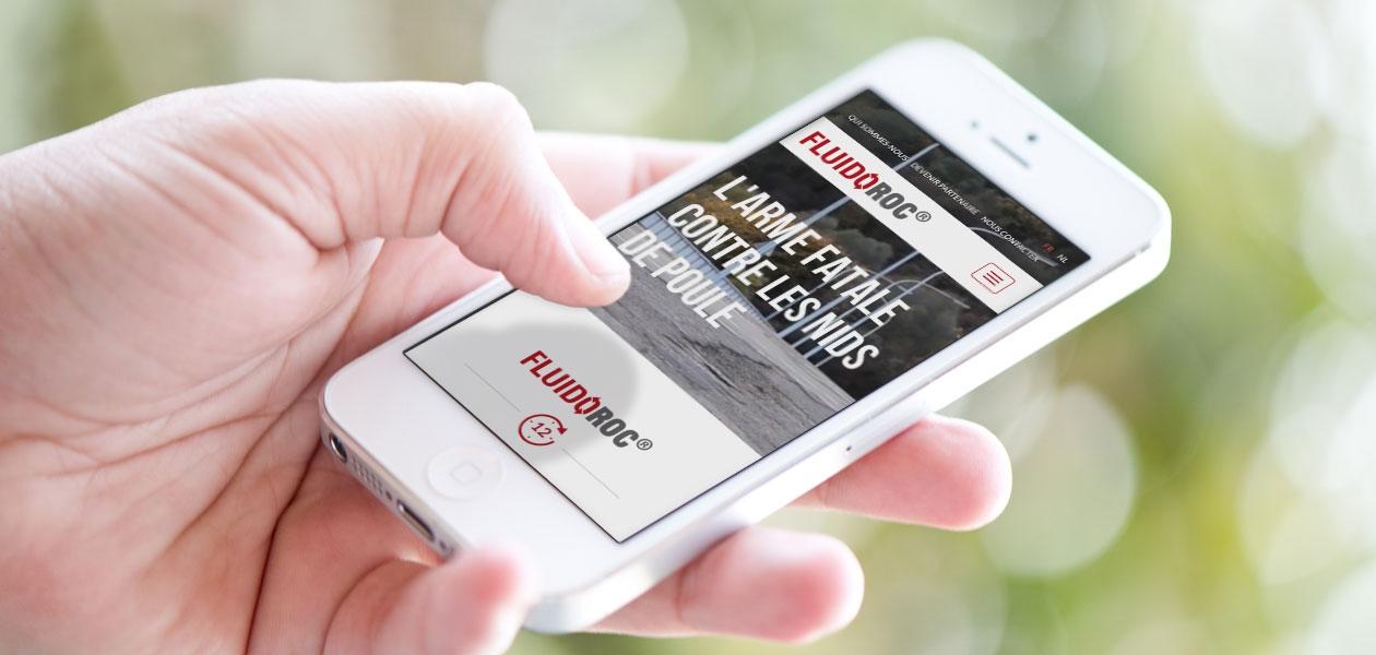 Un site web pour présenter un produit innovant