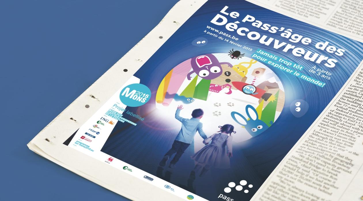 Campagne de promotion du PASS'âge des Découvreurs