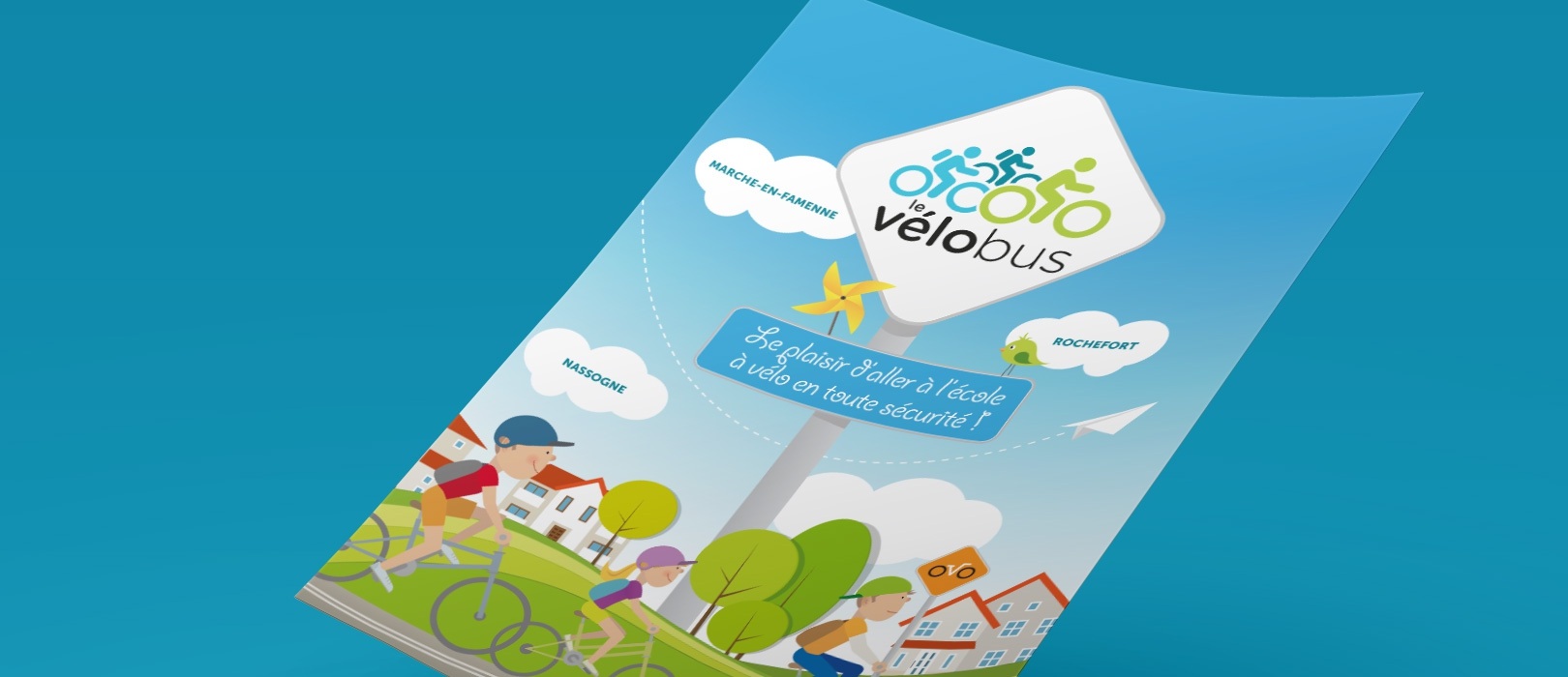 Plan média radio pour promouvoir Fiesta Vélo