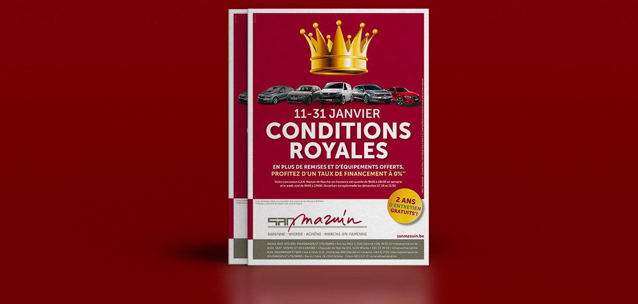 Campagne « Conditions royales »