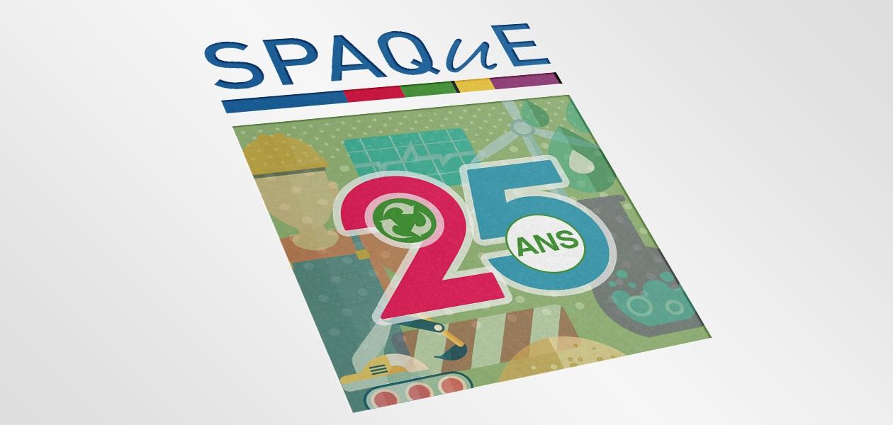 Un logo pour les 25 ans de SPAQuE