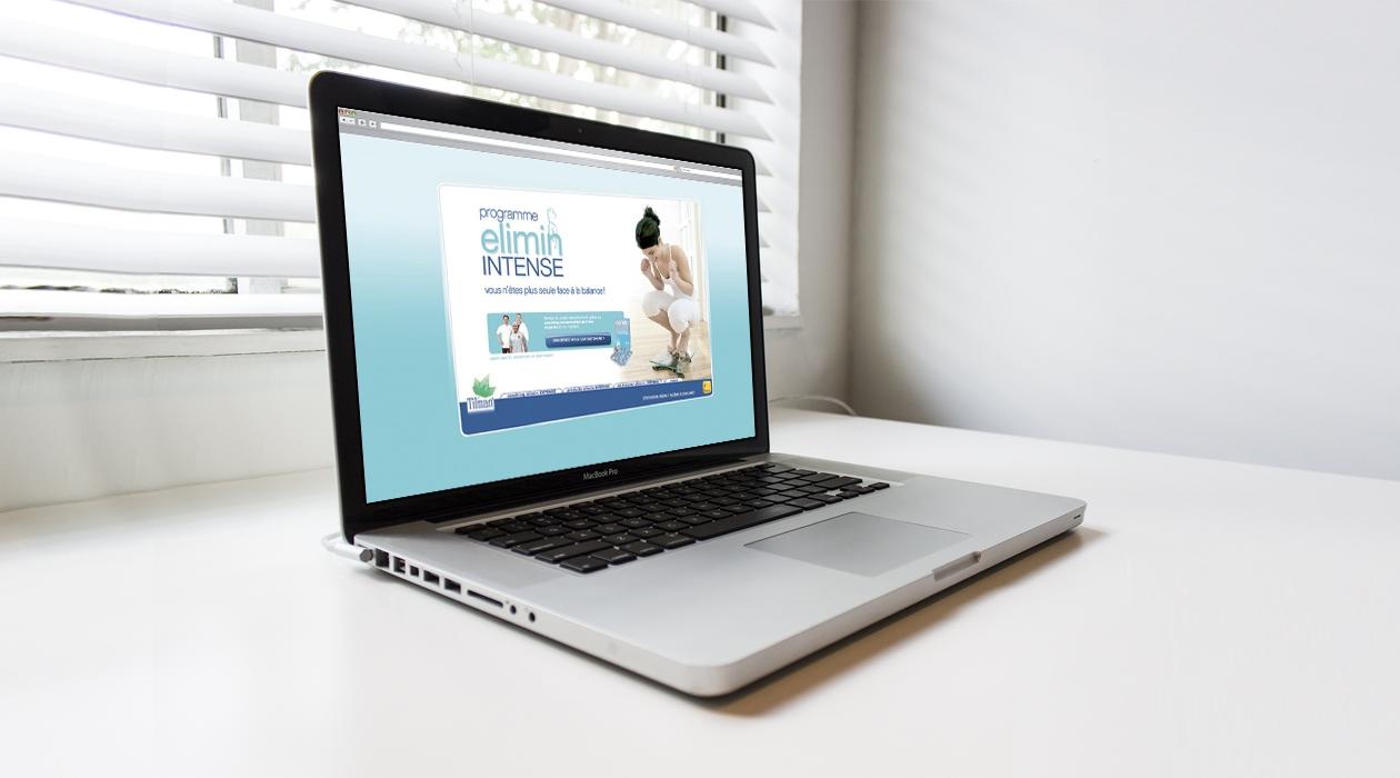 Création et promotion d'un programme minceur online