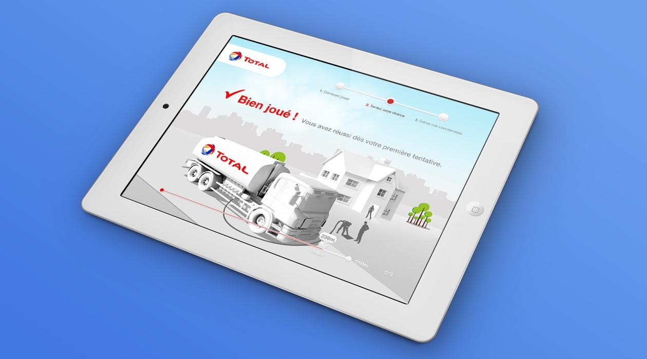 Application concours sur borne iPad