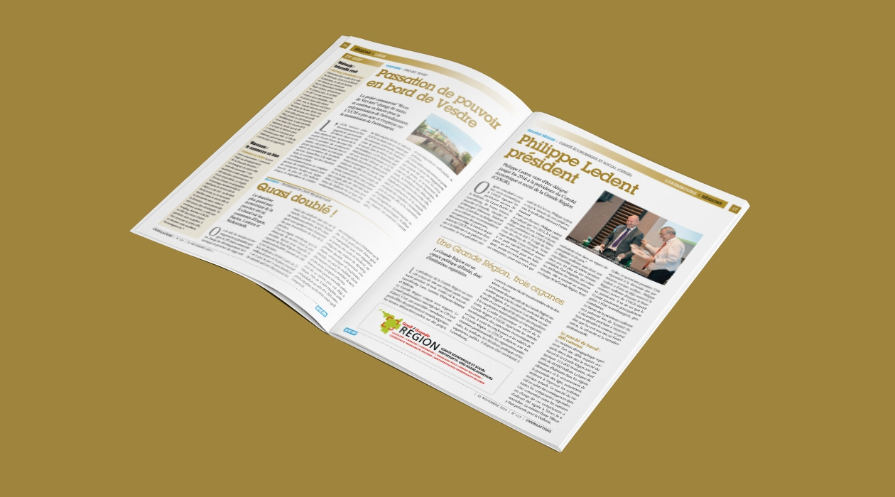 Régie publicitaire du magazine