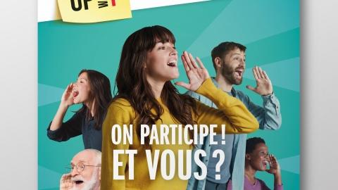 Get Up Wallonia : création d'une stratégie et d'un plan de communication