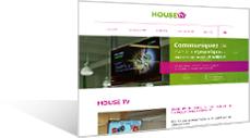 HOUSETV - L'unique réseau d'écrans dans les magasins de bricolage, jardinage & décoration !