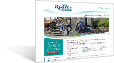 Hydro+ Rental - Spécialisés dans la location de pompes pour les secteurs industriels, de la construction et de l'épuration urbaine