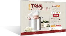 tousatable - Un tout nouveau salon unique sur les arts de la table !