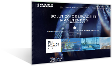 Cableries Namuroises - Solution de levage et manutention